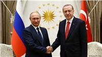 بوتين وأردوغان يبحثان الوضع في عفرين وإدلب السوريتين