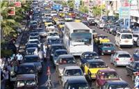 كثافات مرورية بمعظم محاور الجيزة بسبب طلاب المدارس