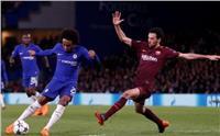 شاهد| ويليان يتفوق على رونالدو ونيمار في دوري أبطال أوروبا