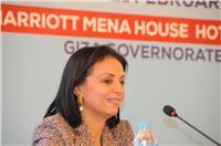 مايا مرسي تشارك في جلسة «تمكين المرأة بمنطقة البحر المتوسط»