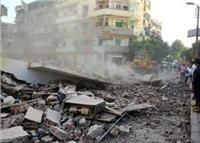 الصحة: إصابة 6 مواطنين إثر انهيار عقار بمنشأة ناصر