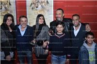 صور| ماجد المصري وعبد المغني ومي سليم يحتفلون بعرض «الكهف»