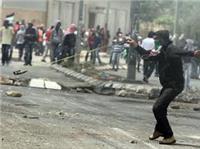 اندلاع مواجهات برام الله بين الفلسطينيين وقوات الاحتلال.. «فيديو»