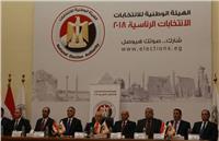 «الوطنية للانتخابات» تعلن القائمة النهائية لمرشحي الرئاسة