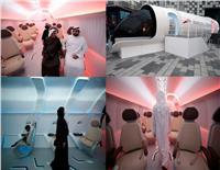صور وفيديو l تفاصل قطار «هايبرلوب» الجديد في دبي