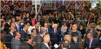 مؤتمر شعبي حاشد بالدقهلية لدعم الرئيس السيسي