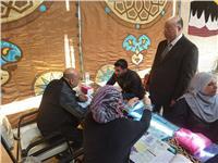صور  مدير أمن القاهرة يتابع إجراءات تلقي طلبات حج القرعة