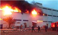 إخماد حريق بمصنع لتجميع السيارات بأكتوبر