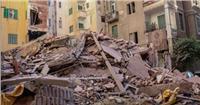 عاجل| مصرع شخص وإصابة 3 في انهيار عقار بالإسكندرية