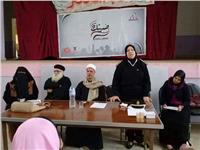 قومي المرأة بالمنوفية يدشن لقاءات لتوعية الطلاب بالانتخابات الرئاسية