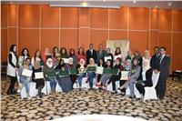 المرأة العربية تختتم الدورة التدريبية الخامسة للأمن و السلام