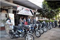 محافظ القليوبية يوزع 8 دراجات بخارية على ذوي الاحتياجات الخاصة