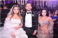 صور| آلاكوشنير ترقص على أغاني تامر عاشور وحجاج بزفاف «مصطفى وليلى»