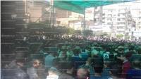 الآلاف يشيعون جثمان الشهيد محمد لاشين في جنازة عسكرية