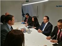 《القاضي》 يستعرض مع رئيس سيسكو استراتيجية مصر للتحول الرقمي