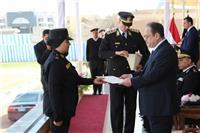 صور| وزير الداخلية يشهد حفل تخرج الدفعة ( 69 ) لفرقة الترقى