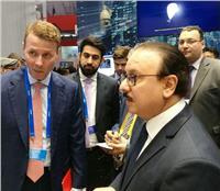 وزير الاتصالات يلتقي رئيس شركة نوكيا العالمية