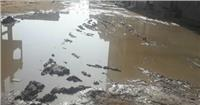 استغاثة أهالي قرية «السخاوي» الغربية من الصرف الصحي