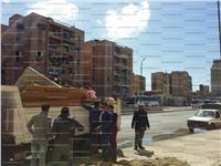 بالصور.. أهالى طلمبات المكس بالإسكندرية يودعون العشوائيات