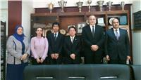 مدير تعليم القاهرة يستقبل وفد جايكا الياباني