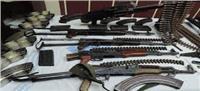 ضبط  14 قطعة سلاح و١٧ قضية مخدرات ٤٣٠ حكما قضائى بالجيزة