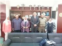 «وكيل تعليم القاهرة» يلتقى ائتلاف تمرد المعلمين