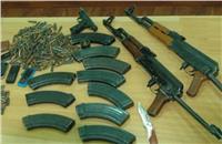 ضبط تاجر سلاح بالبساتين