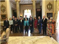 «حواس» ورئيس جمهورية مالطة يفتتحان مؤتمر «المتوسط للسياحة»