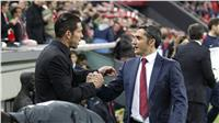 مواجهة برشلونة وأتليتكو تحسم الصدارة