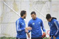 عودة محمد عواد للمشاركة في تدريبات الدراويش