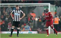 شباك «نيوكاسل» تستقبل هدف «ليفربول» الثاني
