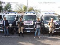 «أمن المنيا»: 13 سيارة متنقلة لتلقى بلاغات ذوي الاحتياجات الخاصة