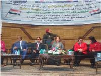 بدء مؤتمر «بإيدينا نوعيها .. وصوتك لمصر» لدعم الرئيس