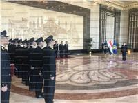 وزير الداخلية يشهد مراسم تخريج دفعة من الضباط المتخصصين