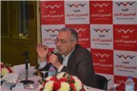 صور| المصريين الأحرار يناقش خطته لتأييد «السيسي»