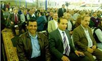 صور.. شبرا الخيمة تنتفض في مؤتمر جماهيري حاشد لدعم الرئيس السيسي