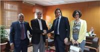 جامعة الوادي تستقبل وفد جامعة ساليرنو الإيطالية