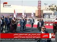 فيديو| «السيسي» و«بن سلمان» يتفقدان مدينة الإسماعيلية الجديدة