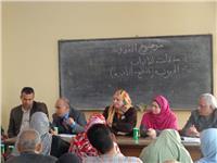 قافلة لـ«زراعة المنوفية» لتقدم نصائح لمزارعي الذرة الشامية
