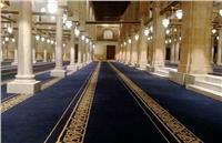 صور| تجهيزات الجامع الأزهر قبل زيارة «السيسي» و«بن سلمان»