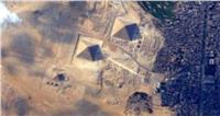رائد فضاء يلتقط أجمل الصور للأهرامات من الفضاء الخارجي