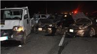 مصرع وإصابة 10 أشخاص في تصادم بصحراوي الإسكندرية