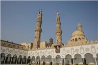 صور  هكذا أصبح الجامع الأزهر في انتظار السيسي وولي العهد