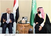 محمد بن سلمان يلتقي «رئيس النواب»  بمقر إقامته
