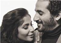 جلسة تصوير رومانسية تجمع أحمد حلمي ومنى زكي.. «صور»