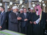 تفاصيل افتتاح السيسي وولي العهد السعودي والطيب الجامع الأزهر