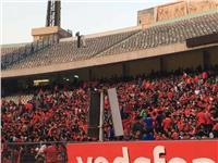 مشادات بين جماهير الأهلي والأمن بإستاد القاهرة