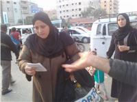 «المصريين الأحرار» يطوف شوارع الجيزة للتوعية بالانتخابات