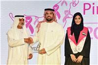 تكريم حسين الجسمي كسفير للقافلة الوردية