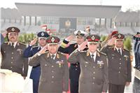 السيسي ينيب وزير الدفاع لوضع إكليل الزهور على النصب التذكاري في يوم الشهيد